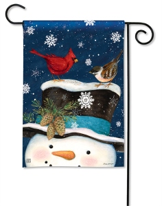 BREEZE ART Winter is Here GARDEN FLAG
